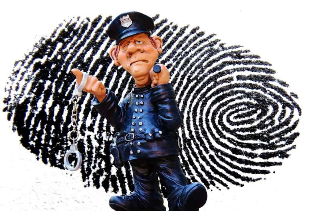 טביעת אצבע ושוטר